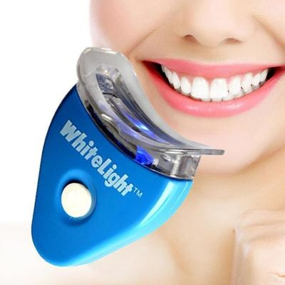 White Light Tooth Dentist Tooth Whitening Device Bright White Tooth Whitening Instrument blue one size