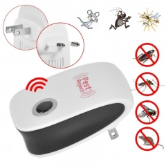 Household Electronic Ultrasound Pest Control Device High Power Catching Mice Artifact white