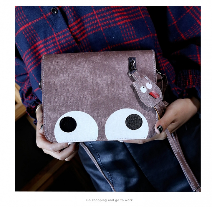 new women's bag Korean version  small square bag single shoulder small bags mobile phone bag pink one size
