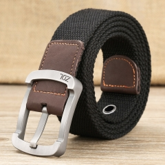 military belt outdoor tactical belt men&women high quality canvas belts for jeans male luxury casual black one size