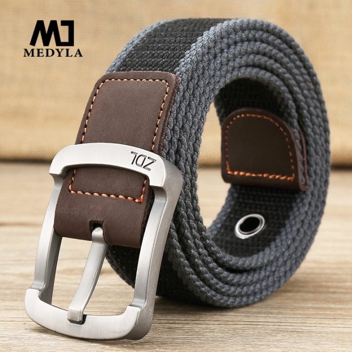 military belt outdoor tactical belt men&women high quality canvas belts for jeans male luxury casual Wide black stripes one size