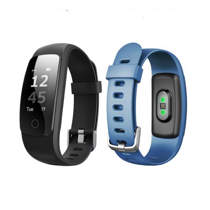heart rate smart Bracelet SPORTS BRACELET message reminder reminder health tracking Bracelet black one size