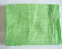 Pure cotton gauze diaper high quality Diaper Baby cotton double gauze Green 60*60cm