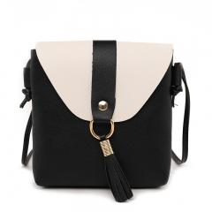 2018 spring summer new tassel Mini Bag super fire mobile phone bag shoulder shoulder bag tide black one size