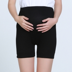 Pregnant women's safety pants big size shorts light proof thin pants pants underwear and pregnancy. black xl