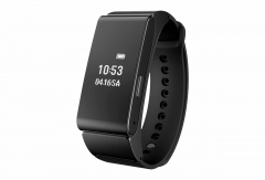 M8 Intelligent Bluetooth Bracelet new separation Bluetooth headset waterproof Bracelet black one size
