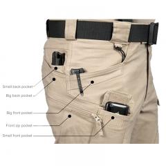 2018Tactical Pants Military Clothing Men's Casual Cargo Pants SWAT Combat Pants Man Trousers Khaki S