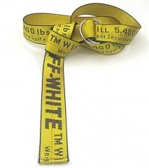 Universal Belt Soft Obi Belt Style Sash Tie Belts Wraparounds Waist Women Men - Yellow