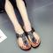 Fashion Fohting Summer Women Shoes Platform Bath Slippers Wedge Beach Flip Flops black 39