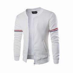 Mens Hoody Jacket  Blocked Lightweight Fleece Jacket Crazy Purchase Good Quality Lowest Price white s
