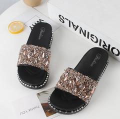 Fashion New shoes ladies women Court shoes Sandals Flip Flops Boots Slippers Athletic Wear outside gold 36