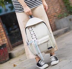 2019 new design product promotion,good quality,shoulder bag Fashion Women Handbags Backpacks Travel white free one
