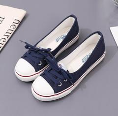 Women Flats Shoes Ballet Loafers Breathable Women Flats Slip Fashion Flats Shoes Women Casual Shoes black 36 (uk 4)