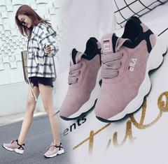 women tennis shoes breathable fitness fabric sneakers female sport shoes walking jogging footwear pink 40(uk6.5)