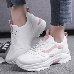 Women Sneakers Slip Fashion Women Shoes lady shoes Casual Shoe sports Fitness Athletic Women Running pink 36