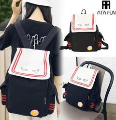 New hot sale Card Magic School Backpack Shoulder Bag Fashion women bag lady handbag Single Shoulder black1 free one