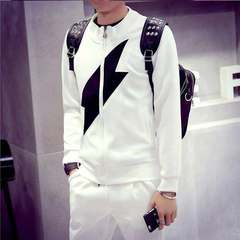 Fashion Fashionable Men Stand Collar Jacket-Hip Hop streetwear Bomber Hoodies Men Dress Coat Clothes Black square 3XL (80kg-88kg)