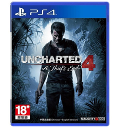 PS4 Games Uncharted 4:A thief's end Uncharted 4:A thief's end Standard edition