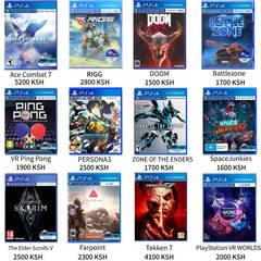 PS4 PlayStationVR(PSVR) VR game collection Ace Combat 7 One