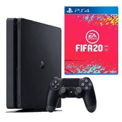 PlayStation 4 slim Console 500GB + Fifa 20 Game PS4 Game Ronaldo Messi PS4 slim 500GB+FIFA20