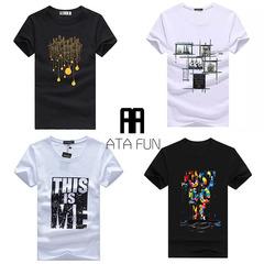 10-20 Colours you choose !!One Clothes 499Ksh 4 Clothings 1499ksh Men Shirt T-Shirt Fashion Lighting-gray s  (45kg-50kg) 100%cotton