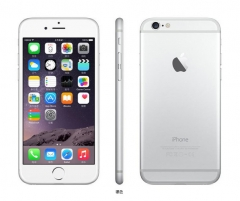 Refurbished Phone : iPhone 6 -64GB+1GB -8 MP+1.2 MP- 4.7 Inch+4G network + fingerprint unlock silver