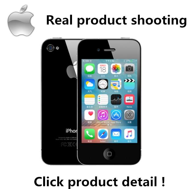 Certified Refurbished: iPhone4S - 3.5 inch screen -16G Smartphone black