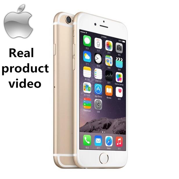 Certified Refurbished :  iPhone 6 - 128GB+1GB - 8 MP- 4.7 Inch+ Fingerprint unlock Smartphone gold