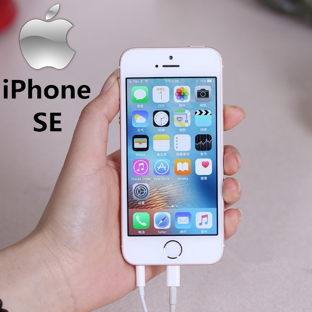 Certified Refurbished : iPhone SE -16GB+2GB -12 MP+2MP- 4 Inch gold