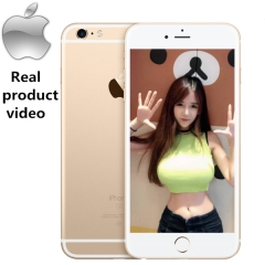 iPhone 6 plus -128GB+1GB -12 MP+5MP- 5.5 Inch+4G network 99% new mobile phones Used gold