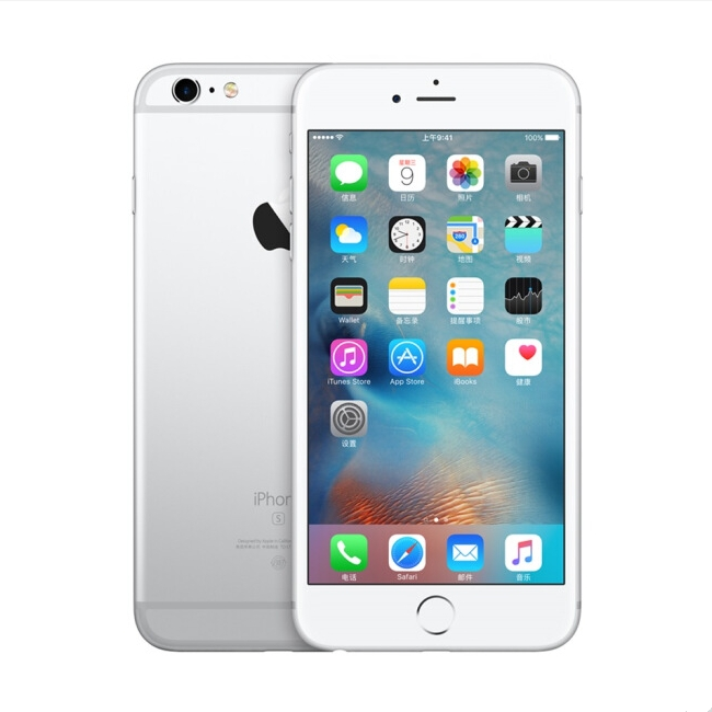 Refurbished Phone : iPhone 6 -64GB+1GB -8 MP+1.2 MP- 4.7 Inch+4G network + fingerprint unlock silver (without Fingerprint)