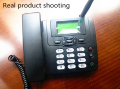 Business radiotelephone, rechargeable telephone, SIM card, wireless phone. black