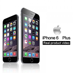 iPhone 6 plus -64GB+1GB -12 MP+5MP- 5.5 Inch+4G network 99% new mobile phones Used black