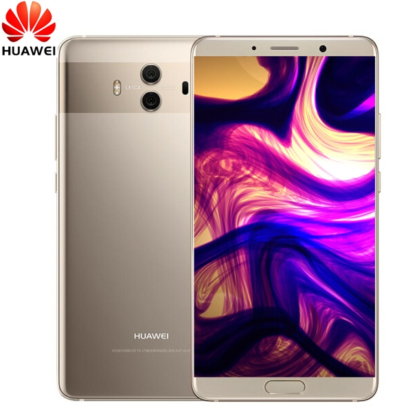 Huawei Mate 10 - 5.9 Inch - 4GB+64GB - Face unlock - 20MP+12MP DualCamera + 8MP Front Camera gold (4g+64g)