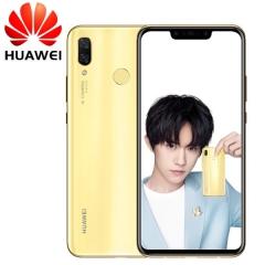 Huawei nova 3 - 6.0 Inch - 6GB+128GB - Face unlock - 24MP+16MP DualCamera + 24MP + 2MP Front Camera gold (6g+128g)
