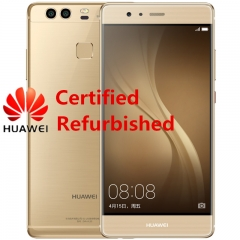 Certified Refurbished:  Huawei P9 - 5.2 Inch - 4GB+64GB - 12MP DualCamera + 8MP Front Camera gold (3g+32g)
