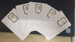 Special unlock SIM card for iPhone 5/5S/6/6S/7 random normal
