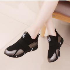 Fashion Sneakers Female Korean New Spring 2019 Women shoes Women Sneaker black 35