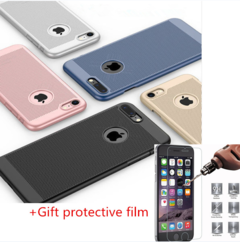 iPhone Cases For IPhone X 10 8 7 IPhone6 XS Max  6SP 5S SE Phone Case Protective Cover Coque black iphone 6 / 6s