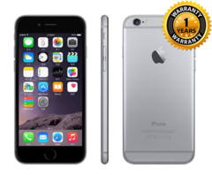 Refurbished iPhone6 : iPhone 6 -64GB+1GB -8 MP+1.2 MP- 4.7 Inch+4G network + fingerprint unlock black (without Fingerprint)