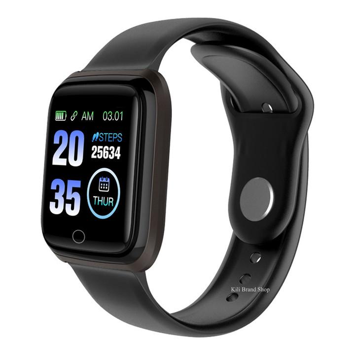 2019 Smart Watch Waterproof 1.3 inch HD Screen black one size