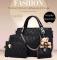 Isable Handbag 5 colors Classic Fashion Women Luxury Handbag PU Leather Genuine Bags black 1