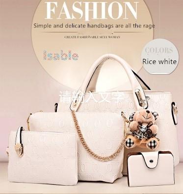 c751efc4891a Isable Handbag 5 colors Classic Fashion Women Luxury Handbag PU ...