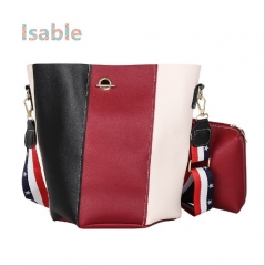 IsableThe new style of the scallop bag with a single shoulder bag. hand bag red 1