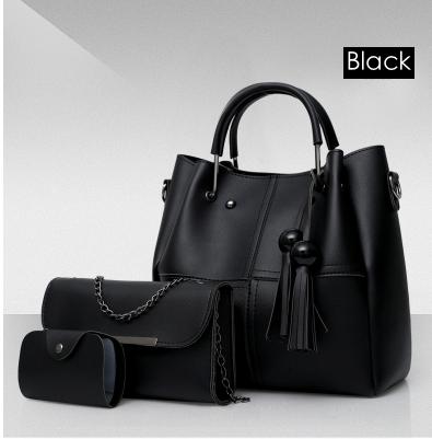 Isable Handbags, fashion classics, high quality women, three pieces of sleeve bags. black 1