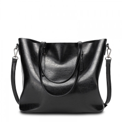Isable New Fashion Bag Women's Handbags Leather Shoulder Bag Five Colors black 1