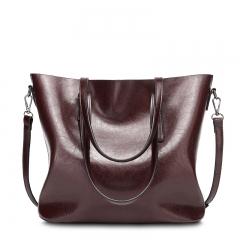 Isable New Fashion Bag Women's Handbags Leather Shoulder Bag Five Colors claret 1