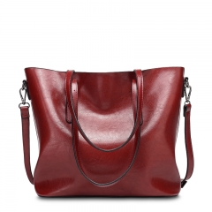 Isable New Fashion Bag Women's Handbags Leather Shoulder Bag Five Colors red 1
