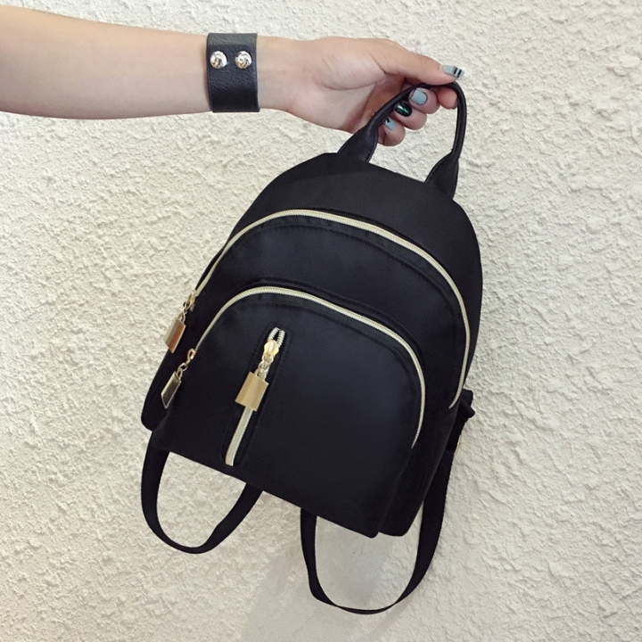 Fashion Backpack Travel Bag handbag black 1