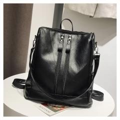 Fashion Shoulder Bag Pu girl casual bag black 1